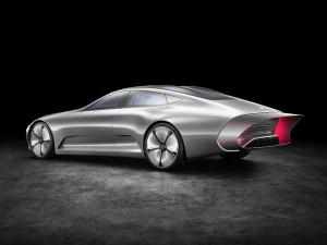 "Mercedes-Benz ""Concept IAA"" (Intelligent Aerodynamic Automobile)."