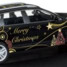 Tohoročný vianočný osobný automobil VW Touareg 2015 (HERPA, M 1:87/veľkosť H0)