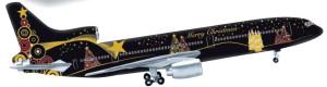 Staré, no teraz vianočne nové: Vianočné lietadlo 2015 – trojprúdový Lockheed L-1011 TriStar (HERPA Wings, M 1:500)