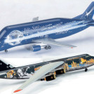 "vianocný-model-HERPA-Wings-Airbus-Fleet-A300-600ST-""Beluga""--AN-124"