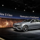 Weltpremiere der neuen Mercedes-Benz E-Klasse: World Premiere of the new Mercedes-Benz E-Class: